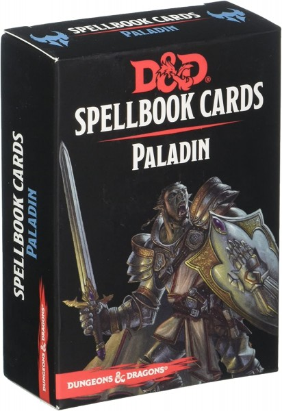 Dungeons & Dragons: Paladin Spell Deck REVISED (69 Cards)