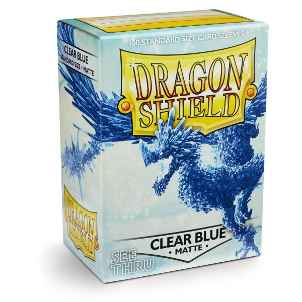 Dragon Shield: Matte – Clear Blue (100) *limited*