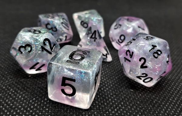 Würfelset Confetti: Mystic Pink (7)