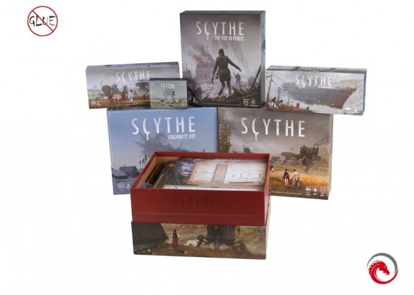 Insert: Scythe The Legendary Box