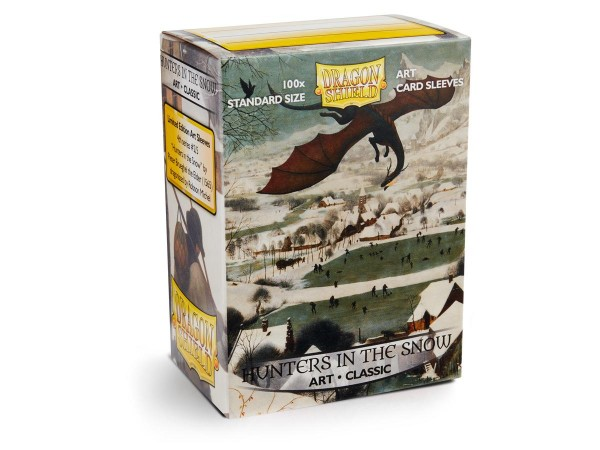 Dragon Shield: ART Sleeves Classic - Hunters in the Snow (100)