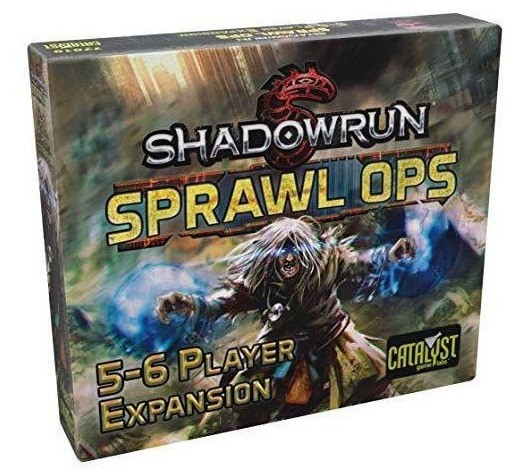 Shadowrun: Sprawl Ops 5-6 Player Expansion