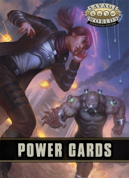 Savage Worlds Power Cards