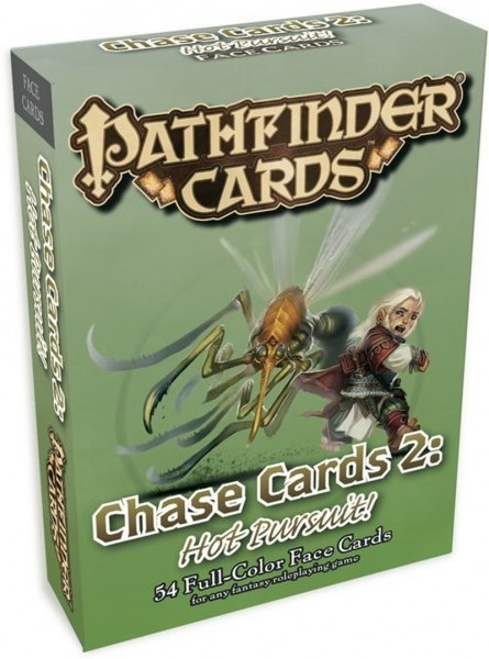 Pathfinder: GM Cards - Chase Cards #2: Hot Pursuit