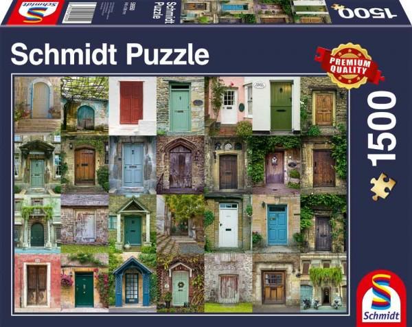 Puzzle: Türen (1.500 Teile)