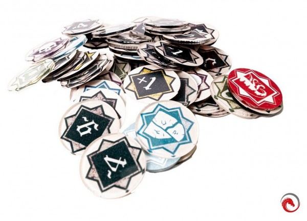 Token and Markers: Arkham Horror LCG Complete Tokens Set (149 Stück)