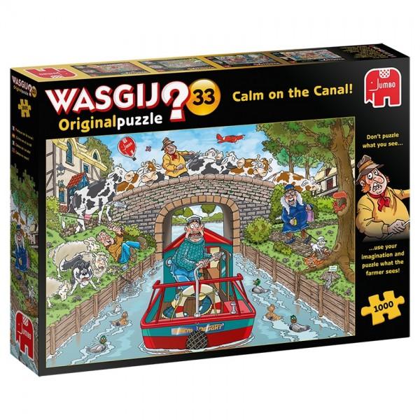 Wasgij Original 33: Ruhe am Kanal (1000 Teile)