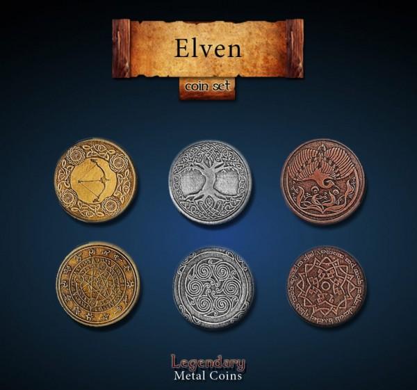 Elven Coin Set (24 Stück)