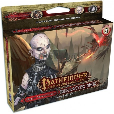 Pathfinder Adventure Card Game: Hell's Vengeance Character 2