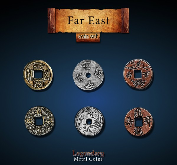 Far East Coin Set (24 Stück)
