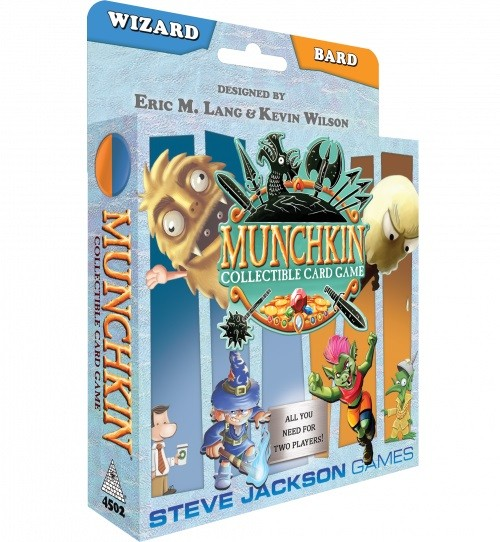 Munchkin CCG: Wizard/Bard Starter Set (englische Ausgabe)
