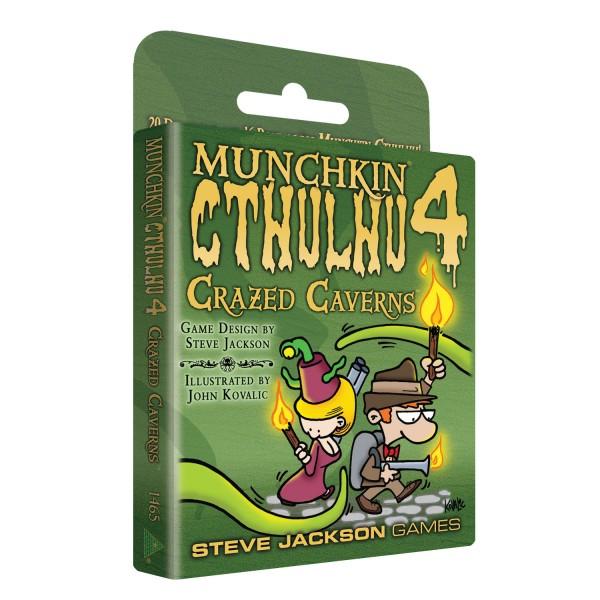 Munchkin Cthulhu 4 - Crazed Caverns (englische Ausgabe)