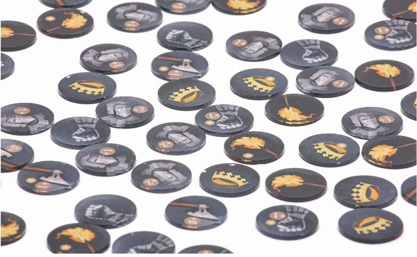 Token and Markers: Mother of Dragons Tokens Set