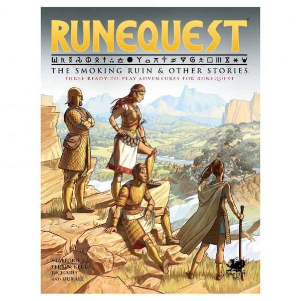 RuneQuest: The Smoking Ruin and other Stories (HC)