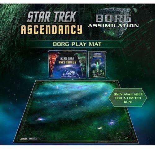 Star Trek: Ascendancy Borg Play Mat *limitiert*