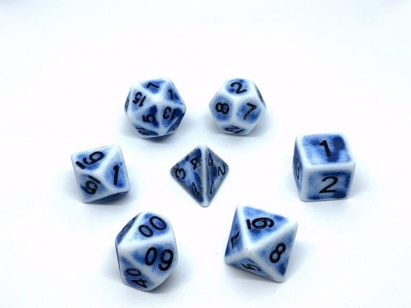 Würfelset Flintstone: Blue (7)