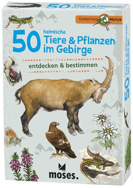 Expedition Natur – 50 heimische Tiere & Pflanzen im Gebirge