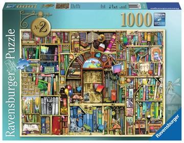 Puzzle: Magisches Bücherregal Nr.2 (1000 Teile)