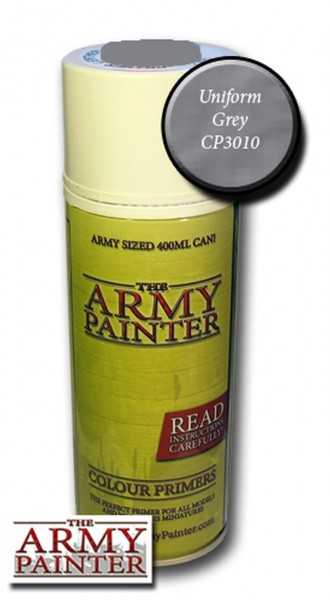 Army Painter Primer: Uniform Grey Spray (400ml)