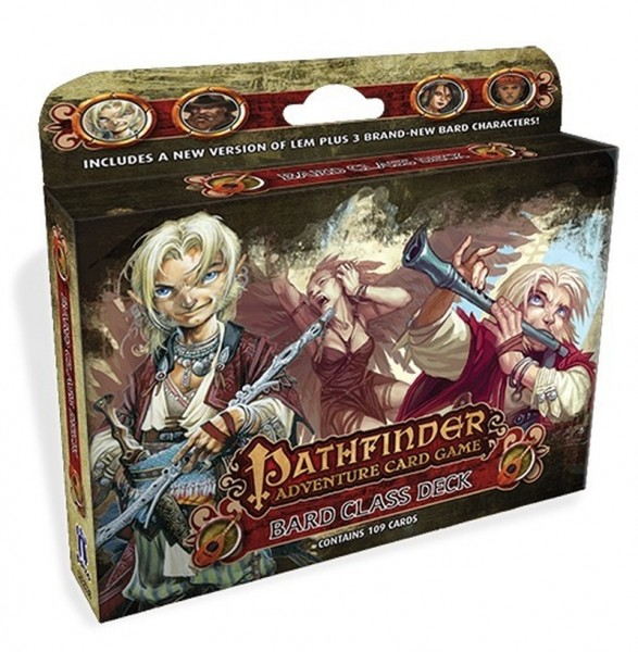 Pathfinder Adventure Card Game: Bard Class Deck