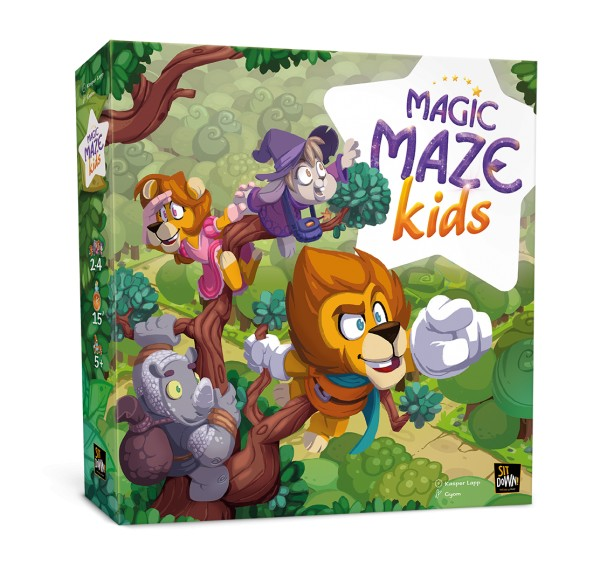Magic Maze Kids (multilingual)