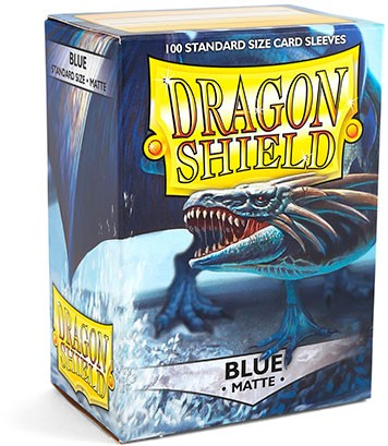 Dragon Shield: Matte – Blue (100)