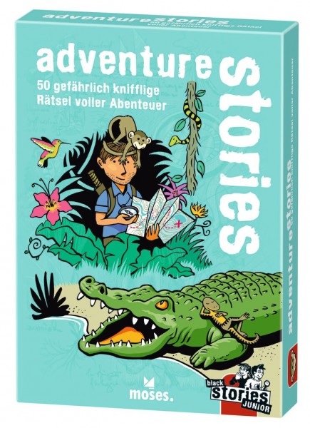 Black Stories Junior – adventure stories