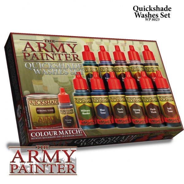 Army Painter - Quikshade Washes Set