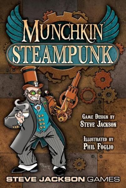 Munchkin Steampunk (englische Ausgabe)