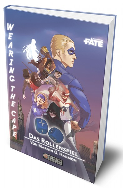 Fate: Wearing the Cape – Das Rollenspiel