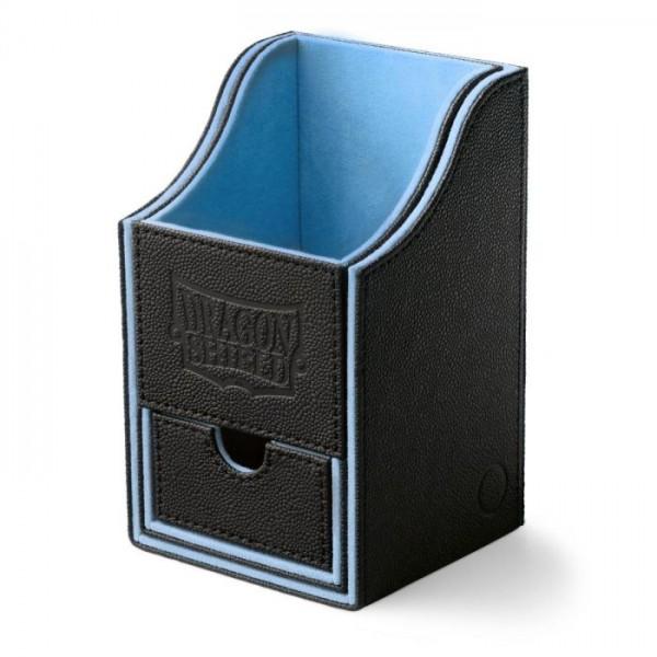 Dragon Shield: Nest Box + Dice Tray – Black/Blue