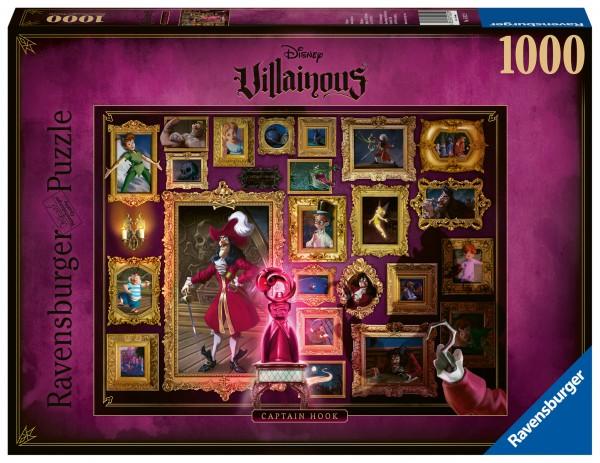 Puzzle: Villainous – Captain Hook (1000 Teile)