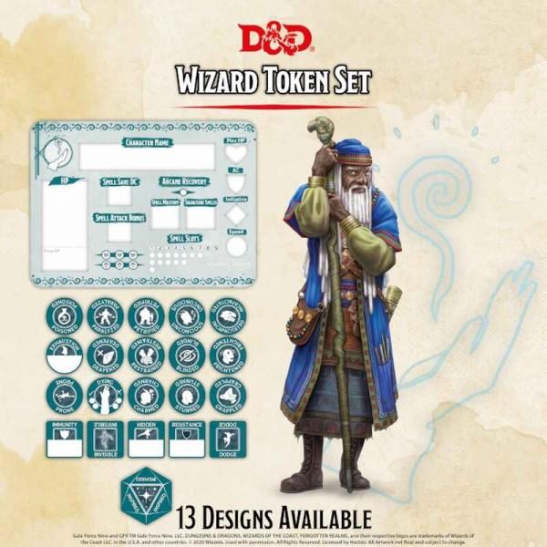 Dungeon & Dragons: Wizard Token Set