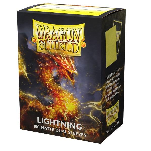 Dragon Shield: Matte – Dual Lightning (100)