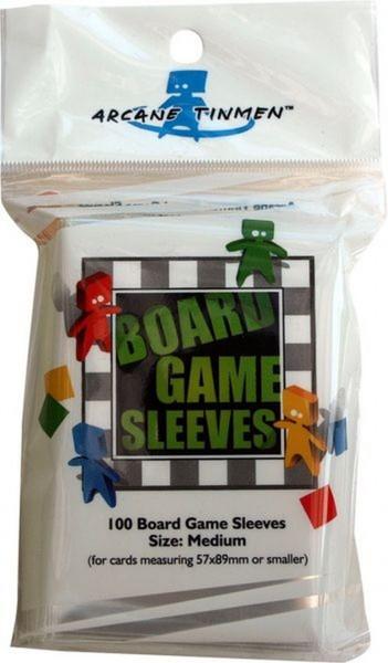 Board Game Sleeves: Medium (100)