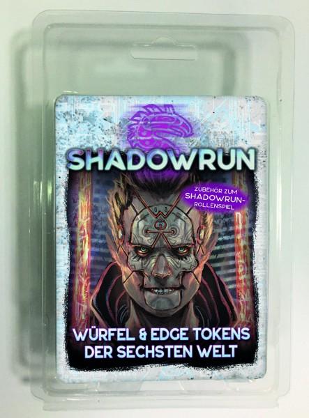 Shadowrun: Würfel & Edge Tokens der Sechsten Welt