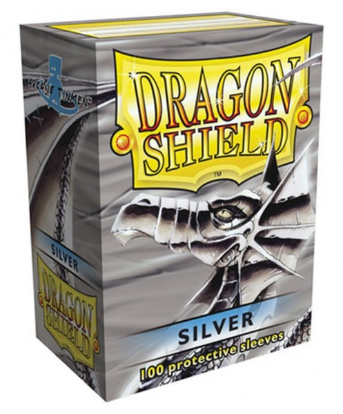 Dragon Shield: Silver (100)