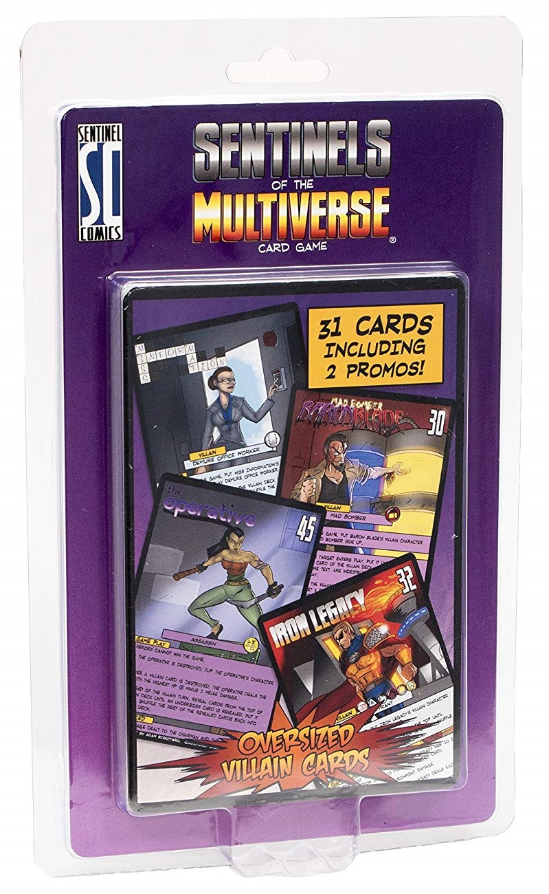 Card Games Sentinels of the Multiverse Benchmark Board and Card Games