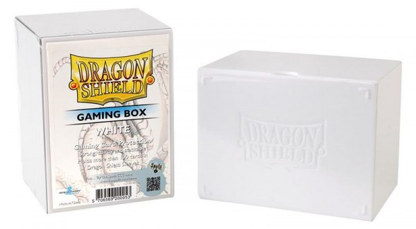 Dragon Shield: Gaming Box - Strong Box 100+: White