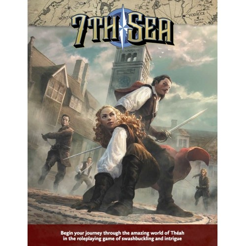 7th Sea: Second Edition Core Rulebook