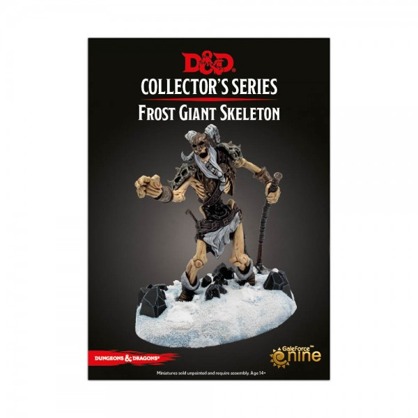 D&D: Icewind Dale - Rime of the Frostmaiden: Frost Giant Skeleton (1 Figur)
