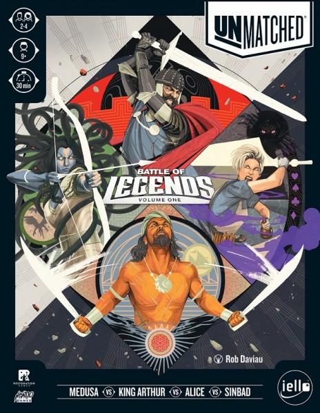 Unmatched: Battle of Legends Vol 1 (english)
