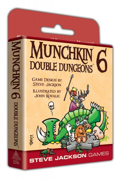 Munchkin 6 - Double Dungeons Expanded Edition (englische Ausgabe)