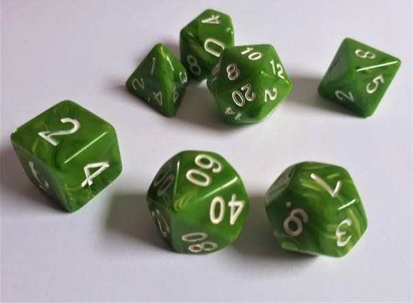 Würfelset Candysweet: Green (7)