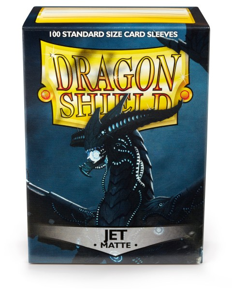 Dragon Shield: Matte – Jet (100)