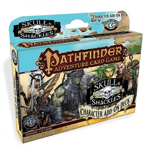 Pathfinder: Skull & Shackles Characters Add-On