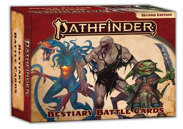 Pathfinder 2.0 Bestiary Battle Cards