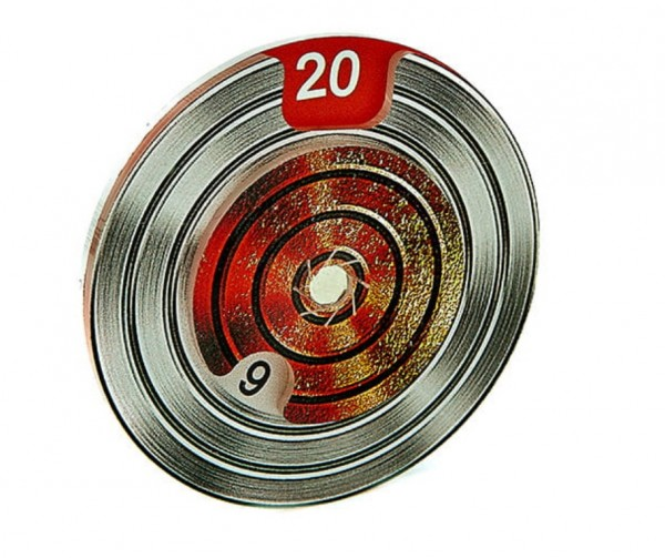 Round Dial Iron