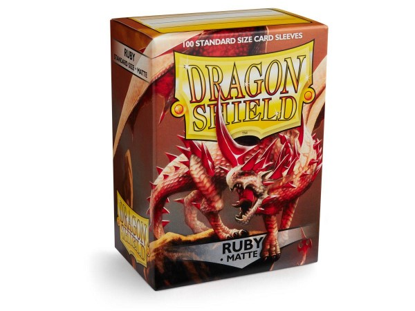 Dragon Shield: Matte – Ruby (100)
