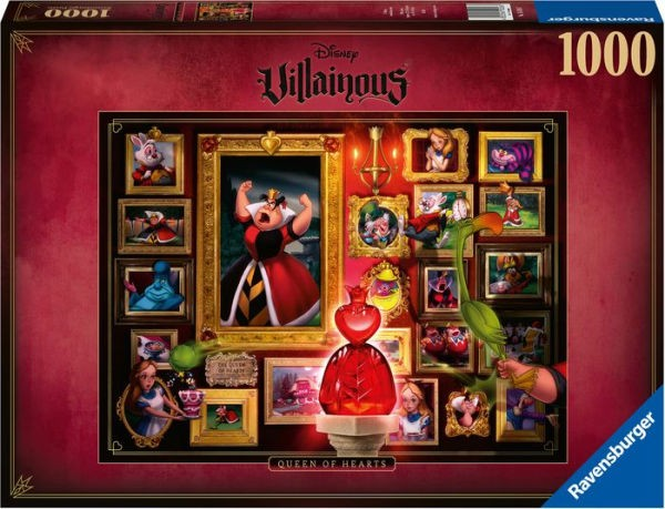 Puzzle: Villainous – Queen of Hearts (1000 Teile)